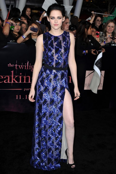 Kristen Stewart - best dressed of the year - 2011 - best dressed celebrities - fashion - red carpet