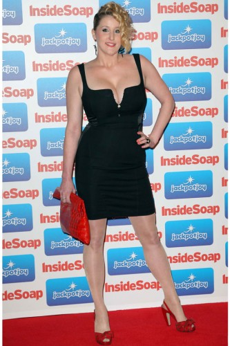 Bronagh Waugh at the Inside Soap Awards