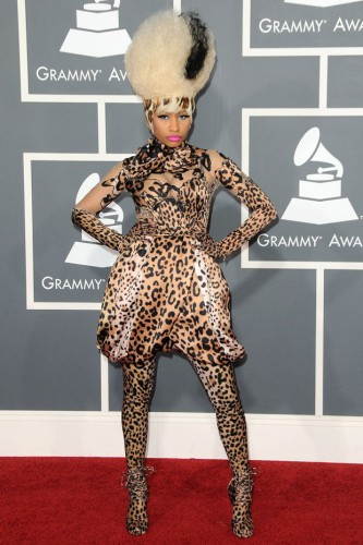 Nicki Minaj at the Grammy Awards