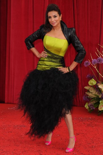 Shobna Gulati at the British Soap Awards