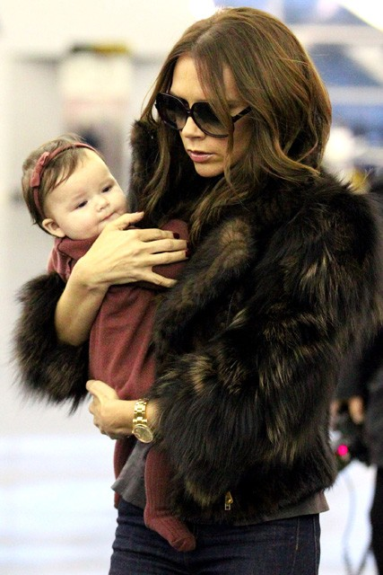 Victoria Beckham and Harper