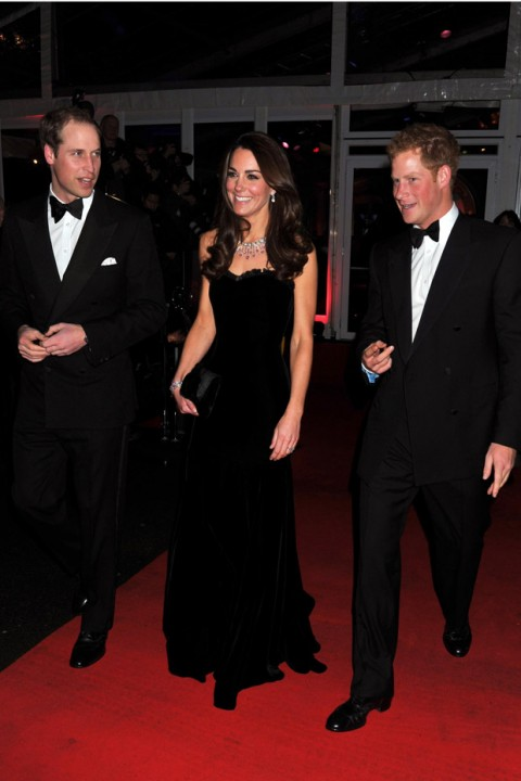 The Duke & Duchess of Cambridge & Prince Harry - The Sun's Military Awards 2011 - Military Awards - Duke and Duchess of Cambridge - Duchess of Cambridge - Prince William - Kate Middleton - Marie Claire - Marie Claire UK