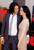 Katy Perry and Russell Brand
