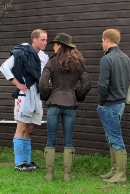 Duchess of Cambridge & Prince Harry - Duchess of Cambridge - Prince Harry - Prince William - Kate Middleton - Charity Football match - Marie Claire - Marie Claire UK