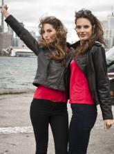 Victoria's Secret models Alessandra Ambrosio and Lily Aldridge - Marie Claire - Marie Claire UK