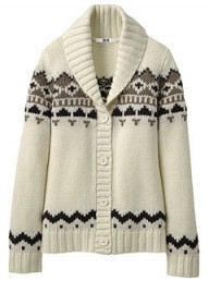 Uniqlo knitted cardigan - buy of the day - fashion