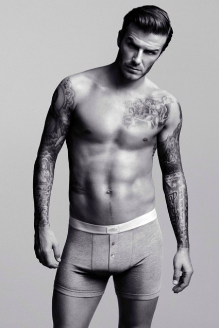 David Beckham - David Beckham strips down for H&M underwear campaign - David Beckham H&M - Marie Claire - Marie Claire UK