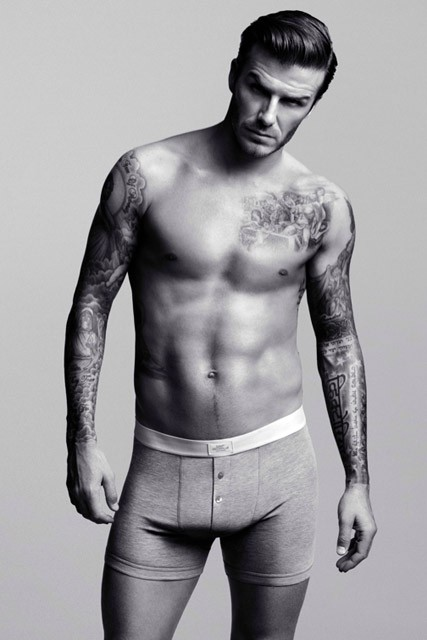 David Beckham - David Beckham strips down for H&amp;M underwear campaign - David Beckham H&amp;M - Marie Claire - Marie Claire UK