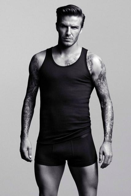 David Beckham - David Beckham strips down for H&M underwear campaign - David Beckham H&M - Marie Claire - Marie Claire UK