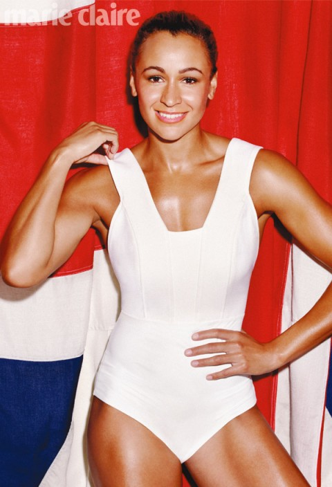 Jessica Ennis Marie Claire February Cover Star