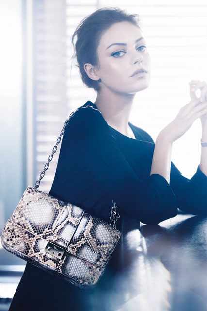 mila kunis - christian dior - dior - new face of - fashion