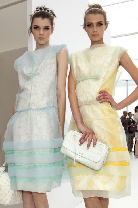 Spring Summer 2012 Trends: palatable pastels, Louis Vuitton