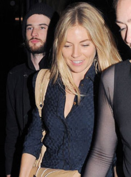 Sienna MIller - pregnant - Marie Claire - Marie Claire UK