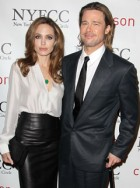 Brad Pitt and Angelina Jolie - Critics Circle Awards - Brad Pitt Critics Circle Awards - Angelina Jolie Critics Circle Awards - Brad Pitt - Angelina Jolie - Marie Claire - Marie Claire UK