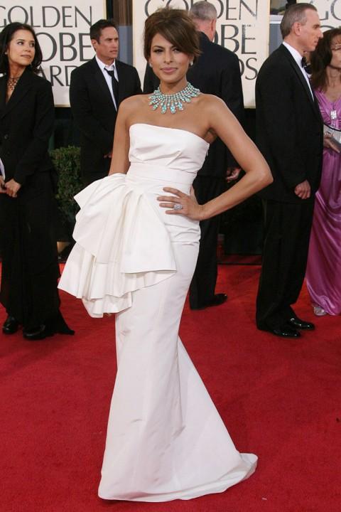 Eva Mendes - 60 Best Golden Globes Dresses of All Time - Best Golden Globes Dresses of All Time - Golden Globes Dresses - Golden Globes Best Dressed - Golden Globes Marie Claire - Marie Claire UK