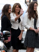 Pippa Middleton, Carole Middleton and Kate Middleton - Royal Wedding - Marie Claire - Marie Claire UK