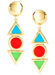 ASOS colourful drop earrings