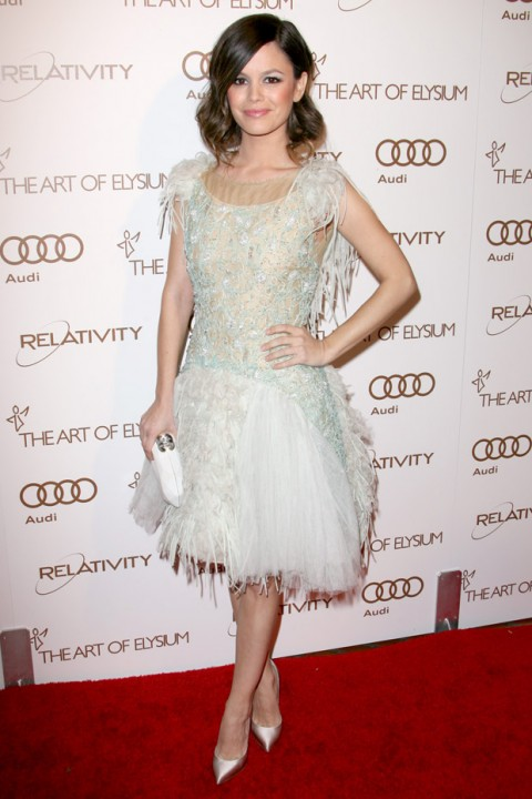Rachel Bilson at The Art Of Elysium Gala 2012