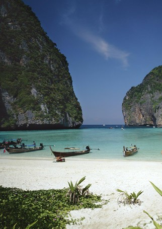 Maya Beach, Thailand - Romantic Places to Propose - Romantic Destinations - Romantic Breaks - Marie Claire - Marie Claire UK