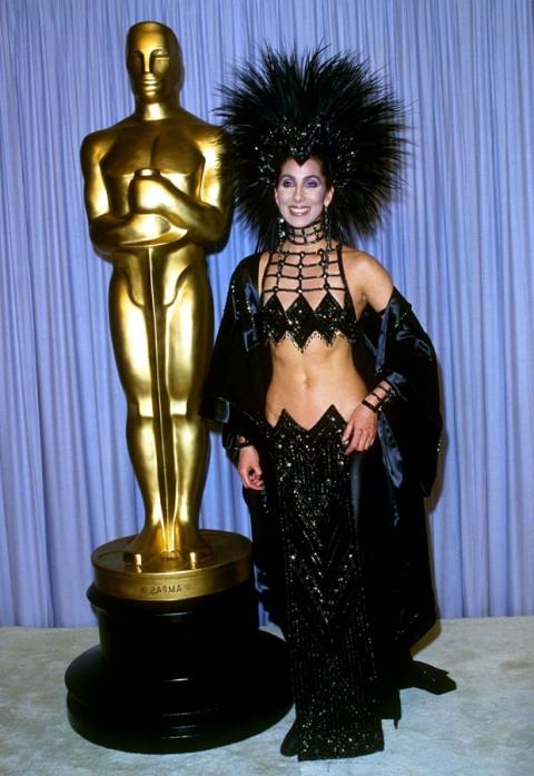 Cher 1987 Oscars