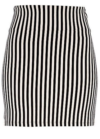River Island striped skirt, £15