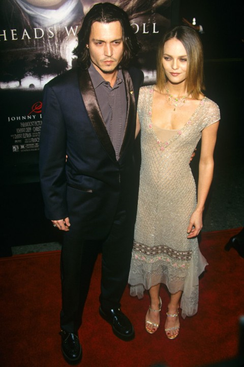 Johnny Depp &amp; Vanessa Paradis - Johnny Depp &amp; Vanessa Paradis: Relationship in Pics - Marie Claire - Marie Claire UK
