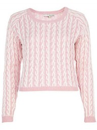 River Island cable knit jumper - fashion buy of the day