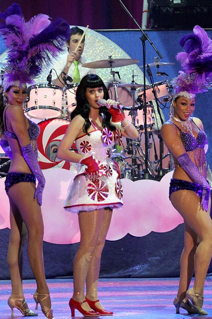 Katy Perry - Katy Perry makes stage debut after Russell Brand split - Russell Brand - Indonesia - Marie Claire - Marie Claire UK