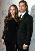 Brad Pitt &amp; Angelina Jolie - Producers Guild Awards - Marie Claire - Marie Claire - Marie Claire UK