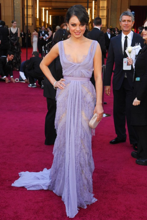 Mila Kunis - 50 Best Oscar Dresses of all time - Best Oscar Dresses - Oscar Dresses - Marie Claire - Marie Claire UK