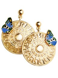 Versace for H&M drop earrings - fashion buy of the day