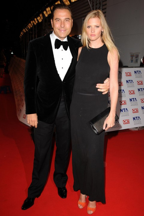 David Walliams & Lara Stone - National Television Awards 2012 - National TV Awards - National Television Awards - Marie Claire - Marie Claire UK