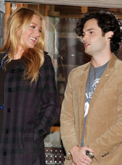 Gossip Girl cast - Blake Lively - Penn Badgley - Ed Westwick - Gossip Girl 100th Episode - Marie Claire - Marie Claire UK