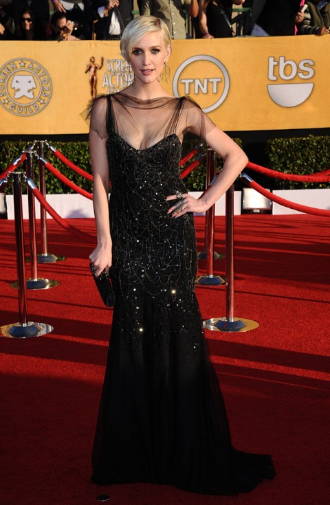 Ashlee Simpson at the Screen Actors Guild Awards 2012