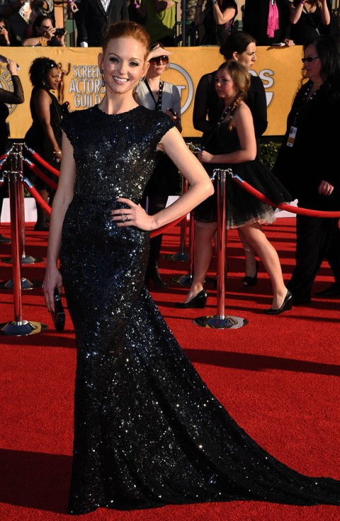 Jayma Mays at the Screen Actors Guild Awards 2012