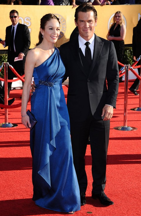 Josh Brolin and Diane Lane at the Screen Actors Guild Awards 2012