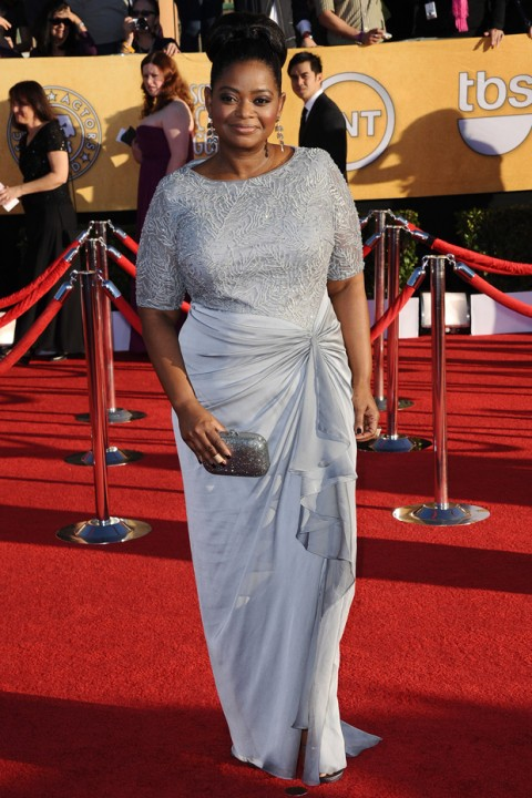 Octavia Spencer - SAG Awards - Screen Actors Guild Awards - Red Carpet - Marie Claire - Marie Claire UK