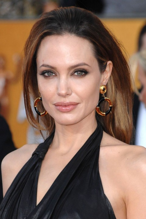 Angelina Jolie at the Screen Actors Guild Awards 2012