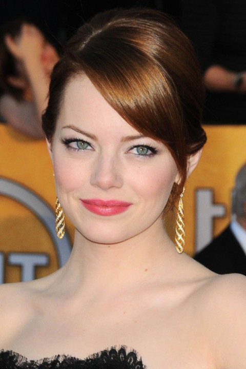 Emma Stone at the Screen Actors Guild Awards 2012