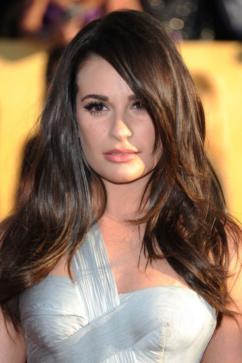 Lea Michele at the Screen Actors Guild Awards 2012