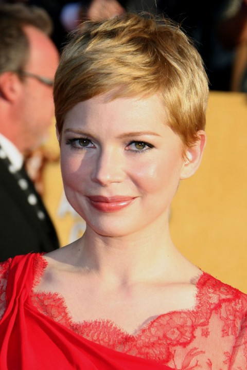 Michelle Williams at the Screen Actors Guild Awards 2012