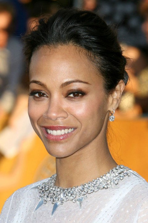 Zoe Saldana at the Screen Actors Guild Awards 2012