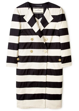 By Malene Birger striped coat, £335