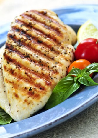 eat Grilled chicken - Wedding Diet Tips