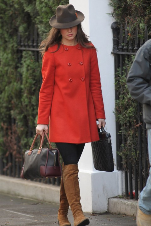 Pippa Middleton - Stars in Winter Warmers - Winter Warmers - Winter Style - Marie Claire - Marie Claire UK