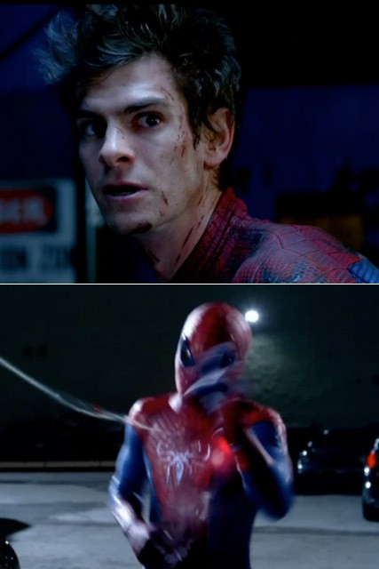 Andrew Garfield - The Amazing Spider-Man - The Amazing Spider-Man trailer - Andrew Garfield Spider-Man - Marie Claire - Marie Claire UK