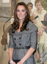 The Duchess of Cambridge - Kate Middleton - Duchess of Cambridge - The National Portrait Gallery - The Duchess of Cambridge attends first solo engagement - Marie Claire - Marie Claire UK