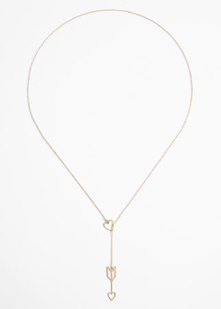 Phoebe Coleman love arrow necklace, £135 - Valentine's shopping - fashion