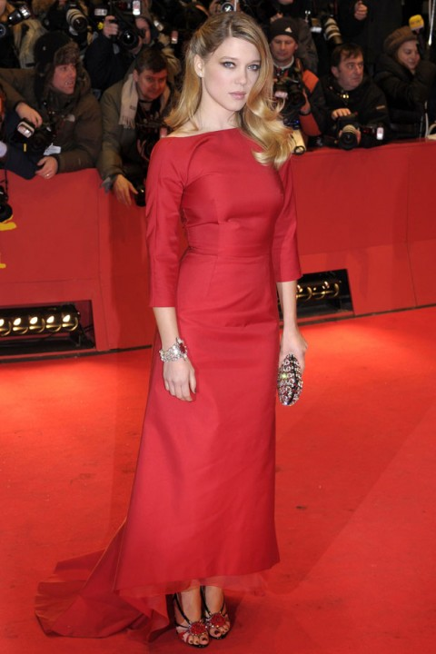 Lea Seydoux at the Berlin Film Festival - Best Dressed of the Week - celebrity fashion - marie claire