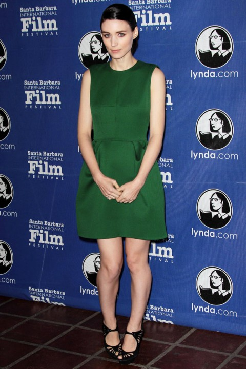 Rooney Mara at the Santa Barbara International Film Festival - Best Dressed of the Week - celebrity fashion - marie claire